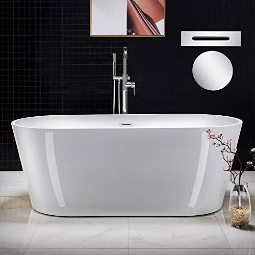 WOODBRIDGE BTA1513-C-Drain &O Bathtub, Chrome