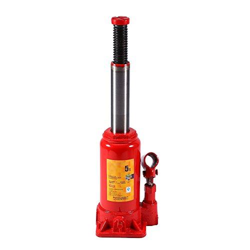 Sollevatore Idraulico a Bottiglia, Cric Idraulici Professionale Cricco Auto Idraulico Martinetto Idraulico...