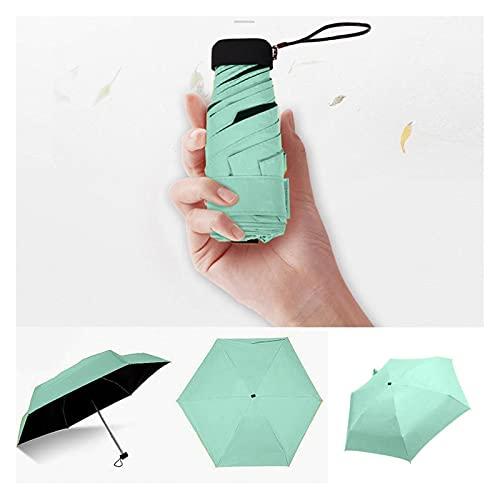Ombrello leggero da donna a ombrello, ombrellone da viaggio antivento - compatto, luce, ombrellone pieghevole ombrello ombrello mini ombrellone piccola taglia facilmente negozio di ombrelloni - uomini
