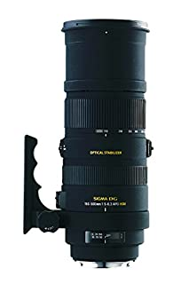 Sigma 150-500 mm F5,0-6,3 DG OS HSM-Objektiv (86 mm Filtergewinde) für Sony Objektivbajonett (B003CYEA34) | Amazon price tracker / tracking, Amazon price history charts, Amazon price watches, Amazon price drop alerts