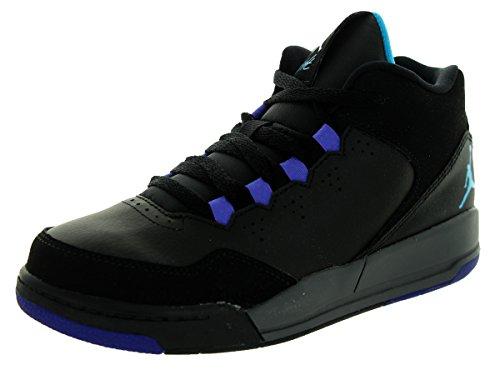 Nike Nike Jungen Jordan Flight Origin 2 BP Turnschuhe, Schwarz/Grau (Schwarz/Bl Drk Gry-LGN-Brght CNCRD), 31 EU