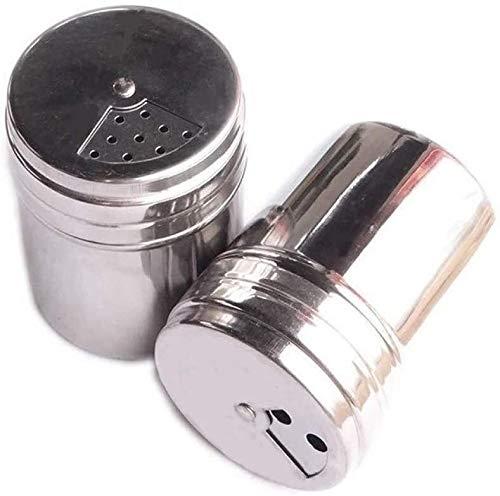 AYCPG 2pcs condiment bottle stainless steel seasoning jar hfhdqp