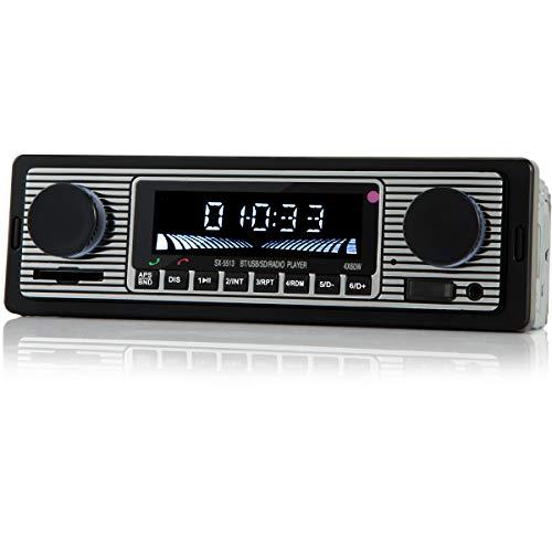 iFreGo Autoradio MP3-Player unterstützt Bluetooth-Freisprech-Autoradio MP3-Player/FM-Radio, unterstützt USB für die Musikwiedergabe USB / MP3 / FM/WMA/WAV/TF Media Player Fernbedienung