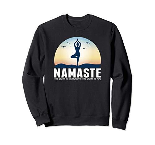 Yoga Namaste La luz En Mí Meditación Budismo Regalo Sudadera