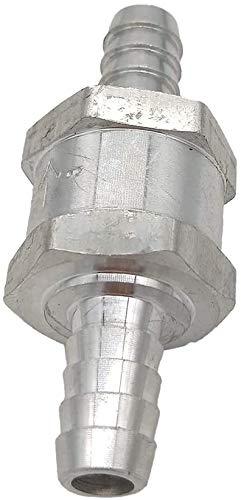 Valvola di non ritorno in alluminio, 10 mm, per benzina, diesel, olio combustibile