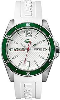 Lacoste - 2010802 - Seattle - Montre Homme - Quartz Analogique - Cadran Blanc - Bracelet