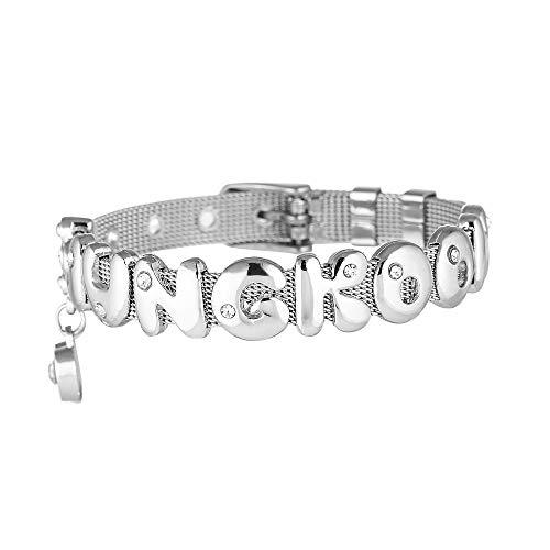Fashion BTS SUGA Titanium Steel BTS Bracelet Accessories Handmade Titanium Steel Bracelet EXO Shinee BTS GOT7 (Jungkook)