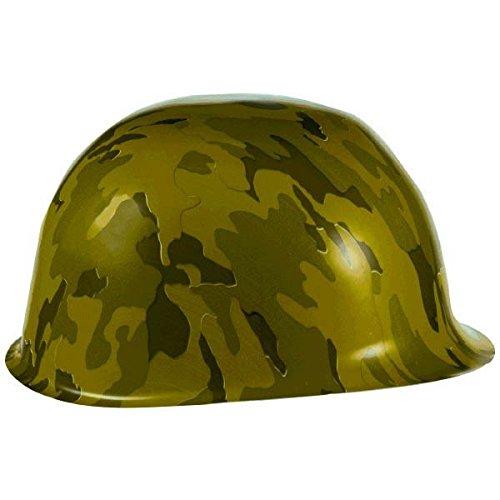 amscan Chapeau de fête Motif Camouflage en Plastique