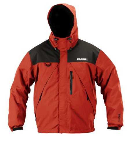 Frabill F2 Surge Rainsuit Jacket, Red, X-Large