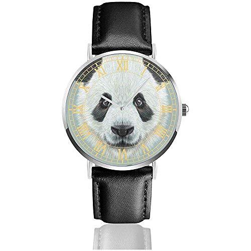 Orologi da uomo a Testa di Panda carino Orologi di Moda semplici Orologi da polso Ultra sottili Orologi da Donna al quarzo impermeabili Orologi da uomo e da Donna
