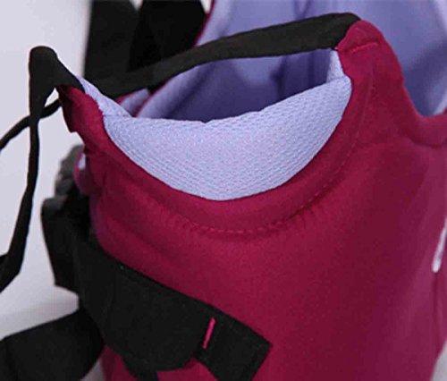Happy Cherry–Imbracatura di sicurezza deambulatore bretelle Sensori di Passeggiate per bambino bambini imparare a camminare per PRIMEROS PASOS cintura nastro tirare indietro múltifuncional–Viola
