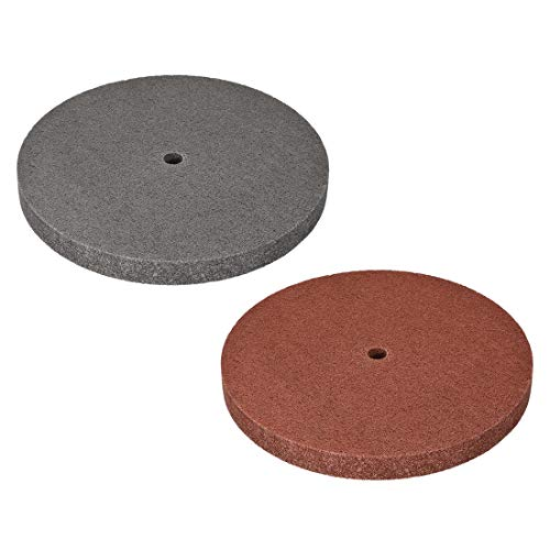New Xucus 1Pcs 10 Inch/12 Inch Polishing Wheel Buffing Pad Felt Disc 5P/7P/9P/12P for 100 Angle Grin...