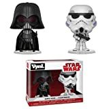 Funko 31616 VYNL 10,2 cm 2er-Pack: Star Wars: Darth Vader & Stormtrooper (Empire Strikes Back),...