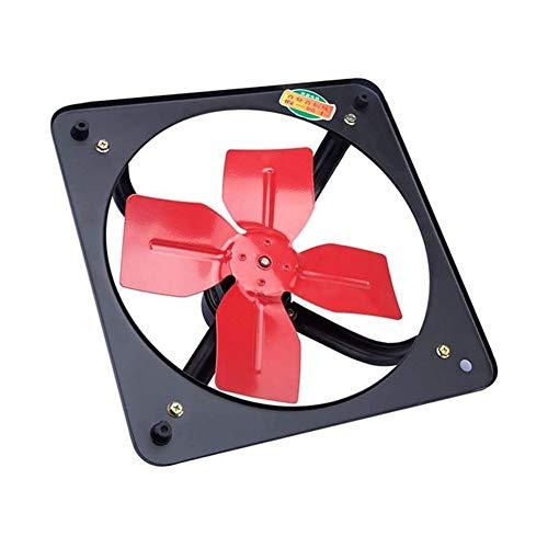 Ventilador De Escape Montado En La Pared Montado en la pared ventilada ventilador 18' Cocina Baño Extractor Extintor, bajo nivel de ruido del ventilador de ventilación, drenaje de metal industrial com