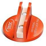 DEDC Universal Aluminum Grooved Magnetic Jack Pad Jacking Puck Pinch Weld Frame...