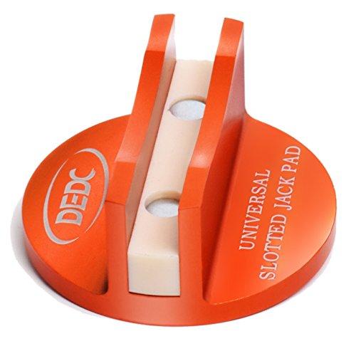 DEDC Wagenheber Auflage, Jack Pad Hebebühnen Adapter aus Aluminum für Auto (Universal)