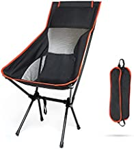 Camping Chairs,Skyteelor Folding Chair, Portable Compact Outdoor Chair, Heavy Support 300 pounds, only 3.9 pounds, Suitable for Outdoor, Picnic, Holiday, Hiking, Backpacking