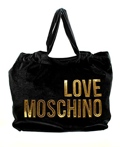 Love Moschino Bolso mano mujer articulo JC4121PP18LZ BORSA VELVET - cm.43 x...