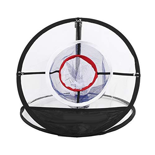 Golfnet – Premium nylon golfnet Indoor golfoefening Opvouwbaar slagnet voor golfers Trainingshulpmiddelen, 19.3×19.3in