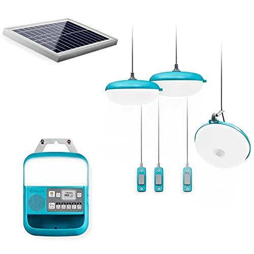 BioLite SolarHome 620+ système Solaire Hors-réseau Turquoise
