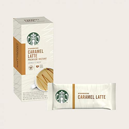 STARBUCKS Caramel Latte Instant Coffee Via Style