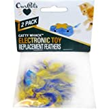 PLAY-N-SQUEAK OurPets PlayNSqueak Catty Whack Replacement Feathers