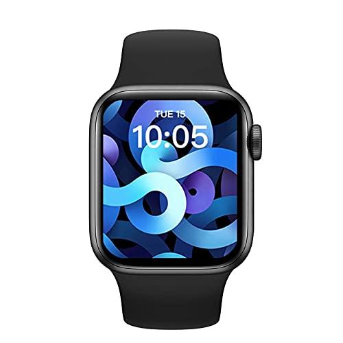 2021 AK76 Smart Watch Mujeres Juegos De Hombres Smartwatch Bluetooth Call Heart Rate1.75 Pulgada Cámara Remota para Android iOS,B