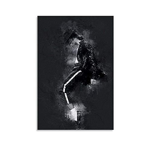 LOPOA Michael Jackson - Poster artistico da parete con immagine di una moderna cameretta, 60 x 90 cm