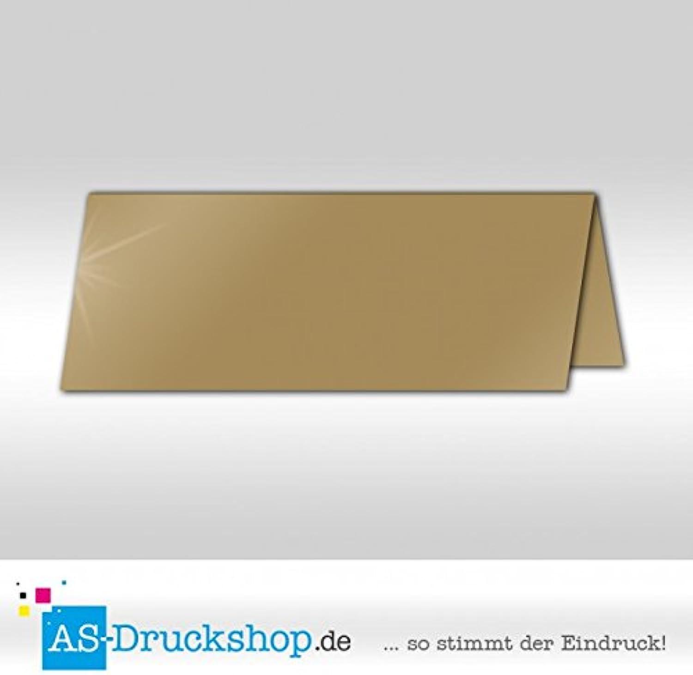 Große Tischkarte Platzkarte - Sand - Seidig 100 Stück 13,2 x 5,1 cm B079Q1DC11 | Up-to-date-styling