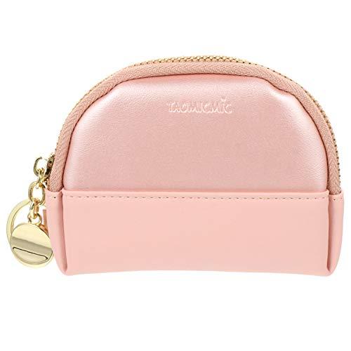 PRETYZOOM Women Coin Purse PU Change Pouch Card Holder Wallet Portable Earphone...