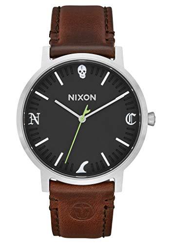 Nixon Reloj Analógico para Hombre de Cuarzo con Correa en Cuero A1058