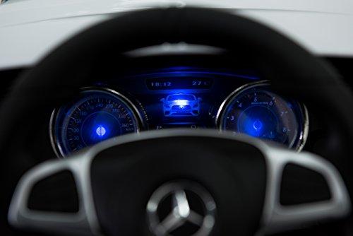 RC Auto kaufen Kinderauto Bild 6: Kinderelektroauto - Mercedes SL 65 AMG - 2 Motoren - Kinderfahrzeug Lizenz Fernbedienung -Schwarz*