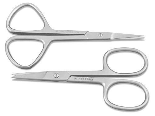 Nagelschere Hautschere Set Gerade für Fußnägel und Fingernägel
