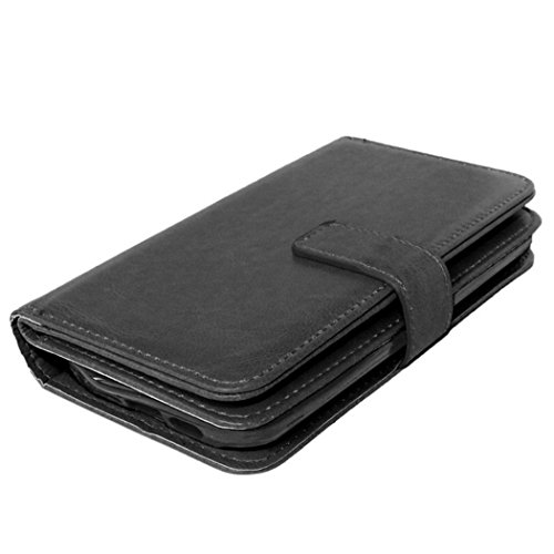 LG Leon Cover Retro Design Flip Leather Wallet Case For LG Leon Case Fundas Holder Stand With Card Slots Christmas Gift