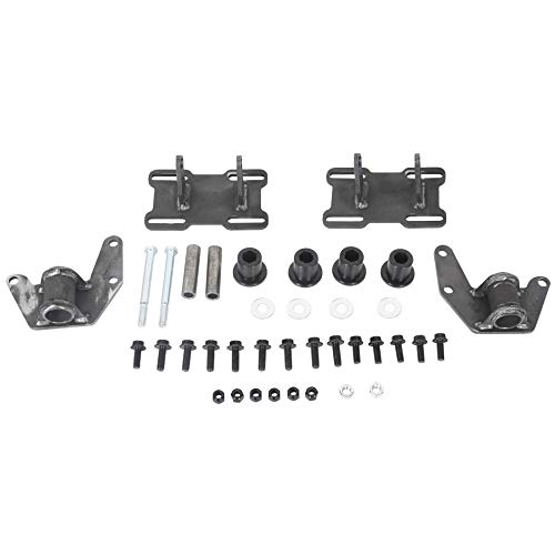 ECOTRIC Engine Mount Adapter Kit Steel Conversion Engine Swap Mounts Adjustable Compatible with GM Body 1978-1988 Regal Monte Carlo Cutlass LS LS1 LS2 LS3 LS6 LSX LQ4 LQ9