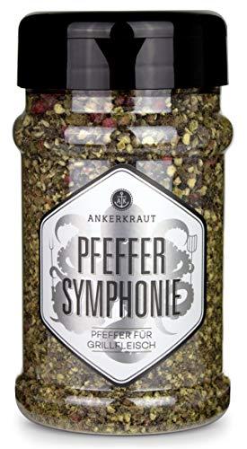 Ankerkraut 9-Pfeffer-Symphonie, grober Steakhouse-Pfeffer, 160g im Streuer