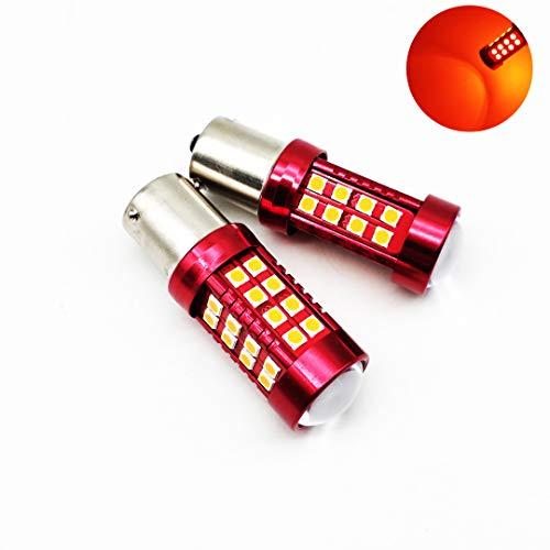 581 PY21W 36 * 3030 SMD ámbar Canbus LED bombillas indicadoras