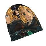 LuciaRivera Zelda Link Legend Zelda Games - Gorro de punto unisex para hombre y mujer, color negro