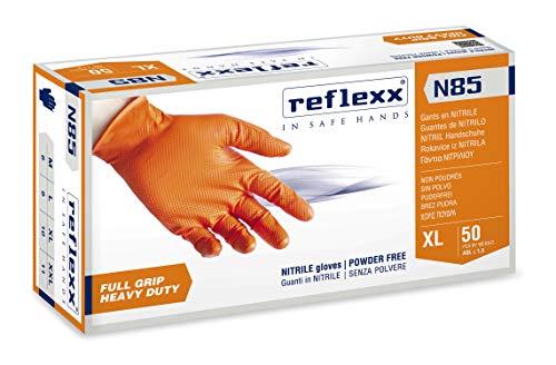 Reflexx N85/XXL, guanti in nitrile FULL GRIP | HEAVY DUTY