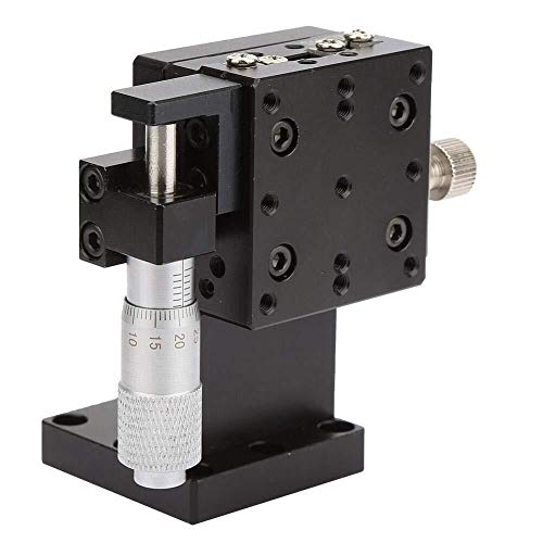 Qfeng SEMZL40-AS Z Lineaire Staat, 40x40mm Z Micrometer Handleiding Precisie Lineaire Vertaling Stage Platform Z As Lineaire Stage Cross Roller Gids