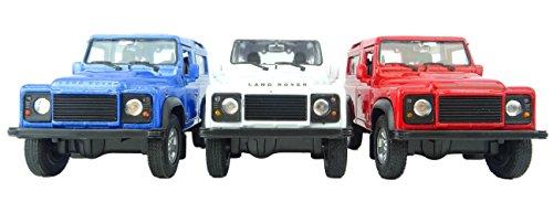 Juguete de Juguete Land Rover Defender de 4 Pulgadas, Modelo Fundido - Colores Surtidos