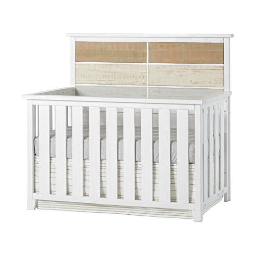 Forever Eclectic by Child Craft Rockport 4-in-1 Convertible Crib, Sandstone