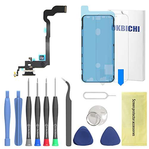 OKBICHI Conector de muelle para iPhone X (todos los transportistas) Cable flexible...