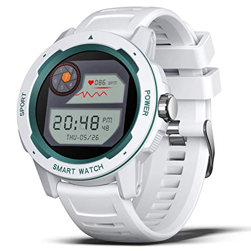 BingoFit Smartwatch Outdoor Sportuhr 2021 Trendy Design Wasserdichter Aktivitäts Tracker, Schlaf- Tracking Gesundheits-Tracker Digitaluhr