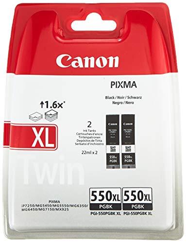 Canon Tintenpatrone PGI-550 XL PGBK - schwarz black 15 ml für PIXMA Drucker ORIGINAL
