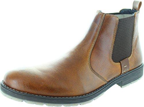 Rieker 33353 Men's Chelsea Boots in Marron 44 25 Marron/M (Tan)
