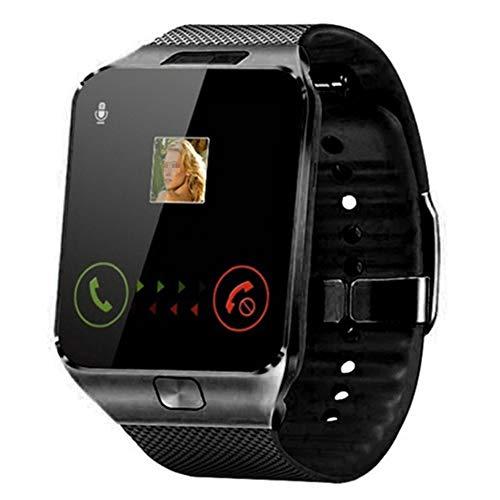 AEF Smartwatch, Reloj Inteligente para Hombre Mujer Niños, Relojes Inteligentes con Ranura para Tarjeta SIM Cámara Música Podometro Pulsera Actividad,2