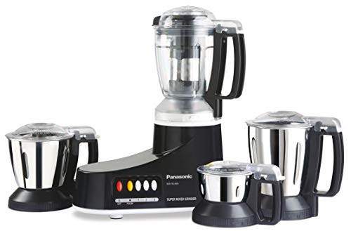 Panasonic MX-AC400 550-Watt Super Mixer Grinder with 4...