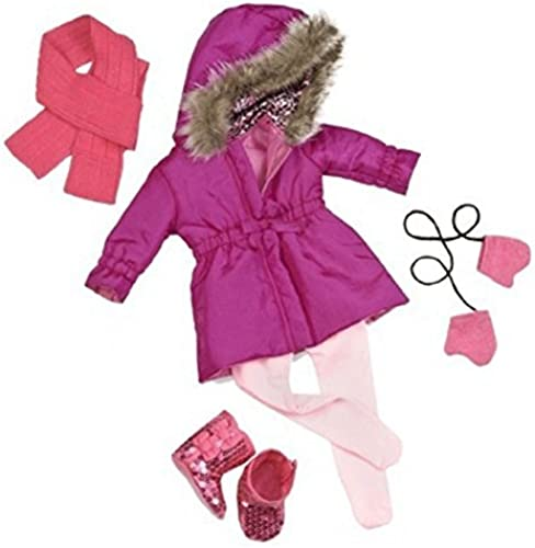 Our Generation Deluxe Ski Coat with Glitter by Our Generation