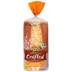 Nature's Own Perfectly Crafted Brioche Style Bread Loaf - 22 oz Bag